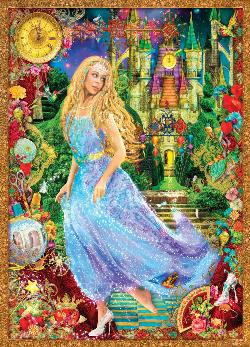Cinderella's Glass Slipper Princess Jigsaw Puzzle