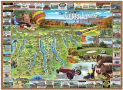 Finger Lakes, NY History Jigsaw Puzzle