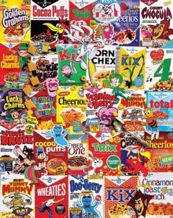 New Cereal Boxes Nostalgic / Retro Jigsaw Puzzle