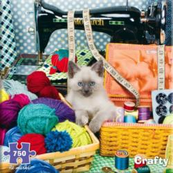 Crafty Kitten Crafts & Textile Arts Jigsaw Puzzle