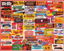 Candy Wrappers Sweets Jigsaw Puzzle