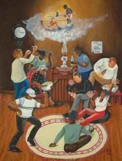 The Brown Bomber African American Jigsaw Puzzle