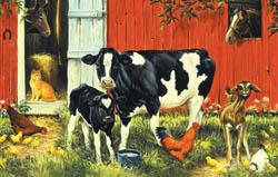 Down on the Farm Farm Animals Jigsaw Puzzle
