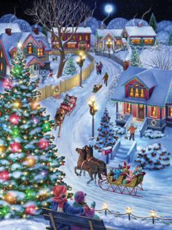 Jingle All the Way Christmas Jigsaw Puzzle