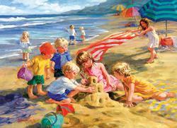 Fun in the Sun Seascape / Coastal Living Large Piece