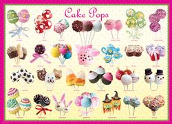 Cake Pops Sweets Large Piece