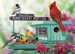 Bertie's Bird Seed Fly-In Birds Family Puzzle