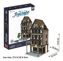 Tudor Restaurant Landmarks / Monuments Jigsaw Puzzle