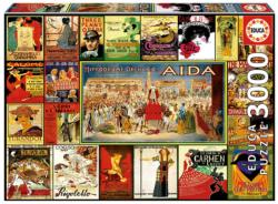 Collage of Operas Collage High Difficulty Puzzle