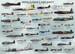 World War II Aircraft Planes Jigsaw Puzzle