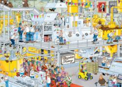 Chocolate Factory Cartoons Jigsaw Puzzle