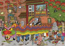 Chinese New Year Cartoons Jigsaw Puzzle