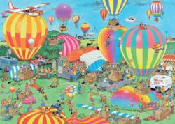 The Balloon Festival Balloons Jigsaw Puzzle