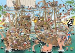 The Pirates (Pieces of History) Boats Jigsaw Puzzle
