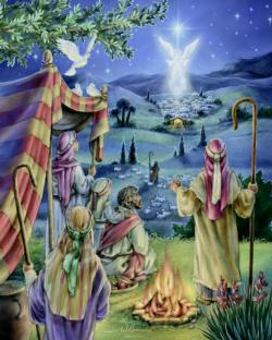 Following the Star Religious Jigsaw Puzzle