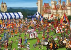 Knights' Tournament People Jigsaw Puzzle