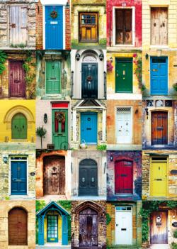 Doors Collage Jigsaw Puzzle