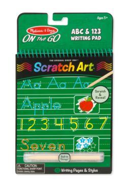 ABC & 123 Writing Pad