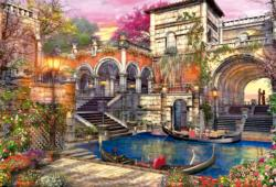 Venice Courtship Lakes / Rivers / Streams Jigsaw Puzzle