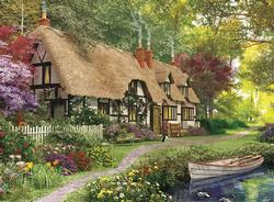 Cozy Cottage Garden Large Piece