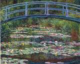 The Japanese Footbridge Lakes / Rivers / Streams Jigsaw Puzzle