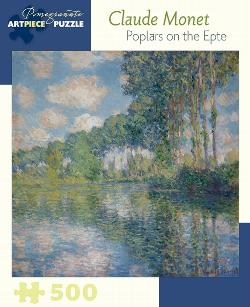 Poplars On The Epte Impressionism Jigsaw Puzzle