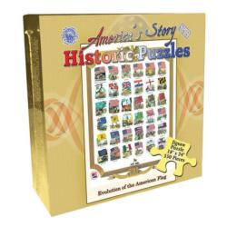 Evolution of the U.S. Flag (America's Story) United States Jigsaw Puzzle