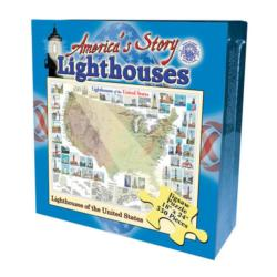 Lighthouses of the United States (America's Story) United States Jigsaw Puzzle