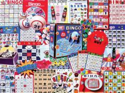 Bingo Nut Nostalgic / Retro Large Piece
