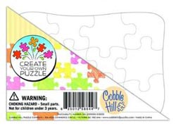 Create Your Own Puzzle - Postcard Size Educational