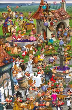 Story of Wine People Jigsaw Puzzle
