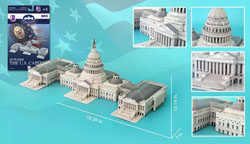 The US Capitol Building United States Jigsaw Puzzle