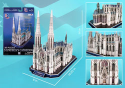 St. Patrick's Cathedral Religious 3D Puzzle