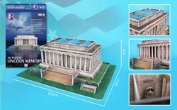 Lincoln Memorial United States Jigsaw Puzzle