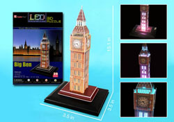 Big Ben with LED lighting London Jigsaw Puzzle