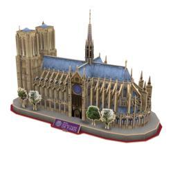 Notre Dame of Paris Churches Jigsaw Puzzle