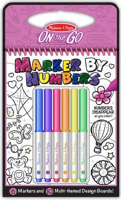 Color By Numbers - Pink
