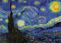 The Starry Night Post Impressionism Jigsaw Puzzle