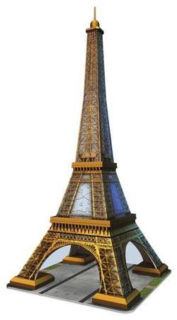 Eiffel Tower 3D Eiffel Tower Jigsaw Puzzle