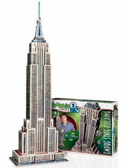 Empire State Building Landmarks / Monuments Jigsaw Puzzle