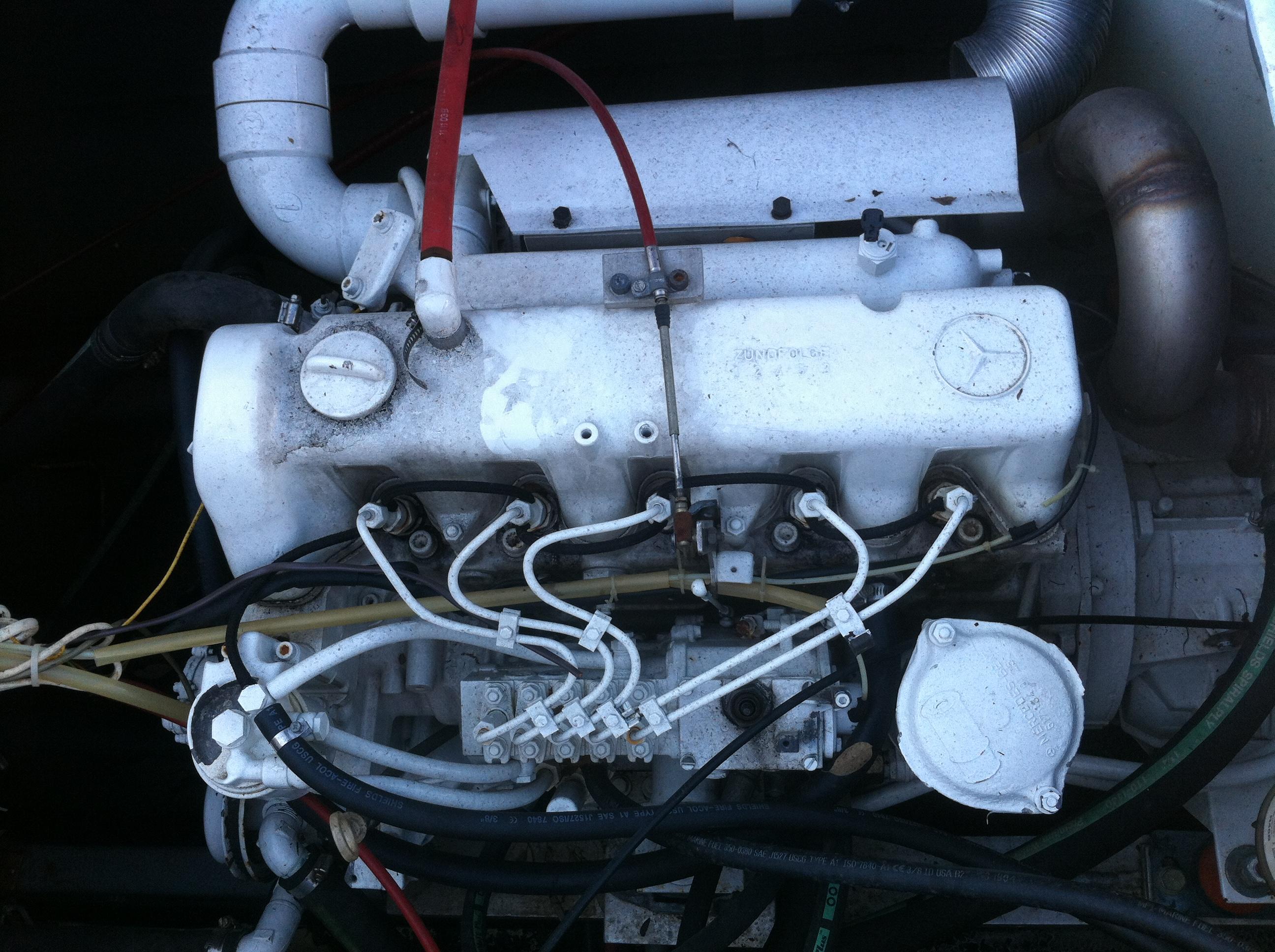 Mercedes benz om617 turbo diesel engines for Mercedes benz om617
