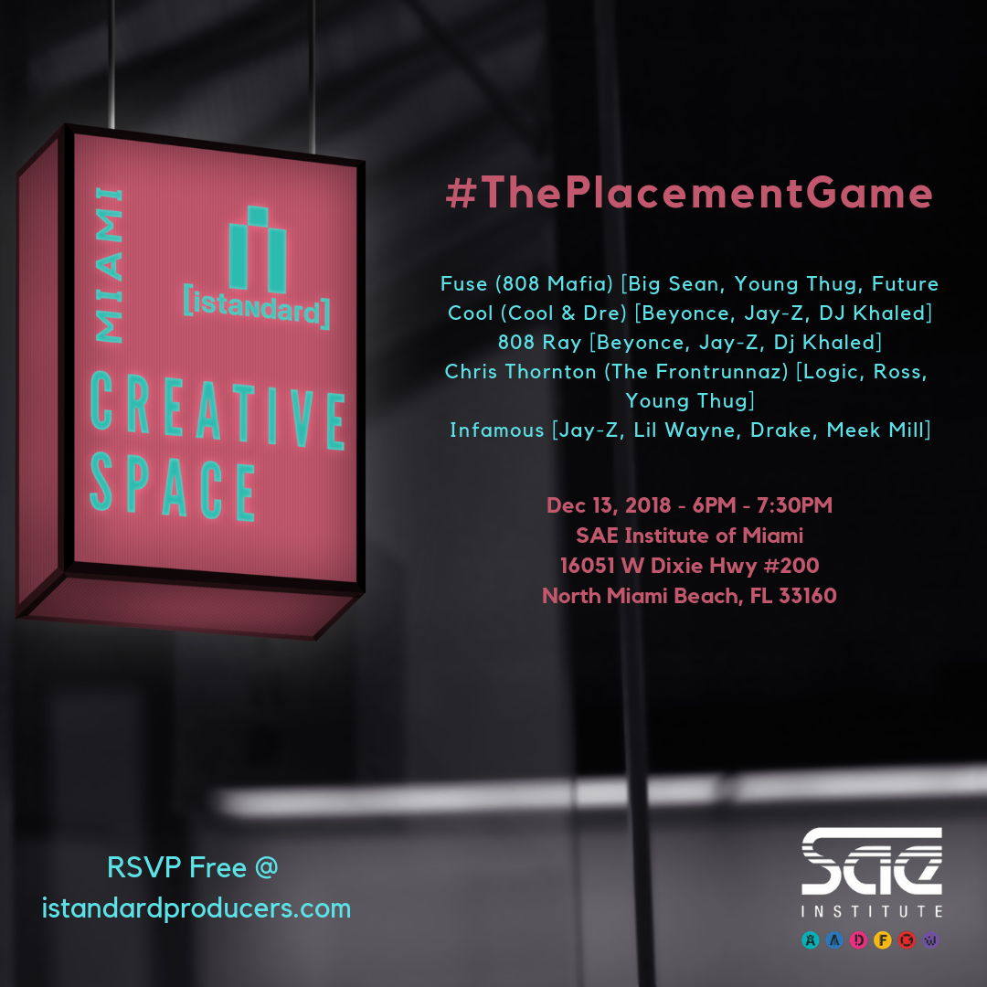Miami [creative space] - #ThePlacementGame