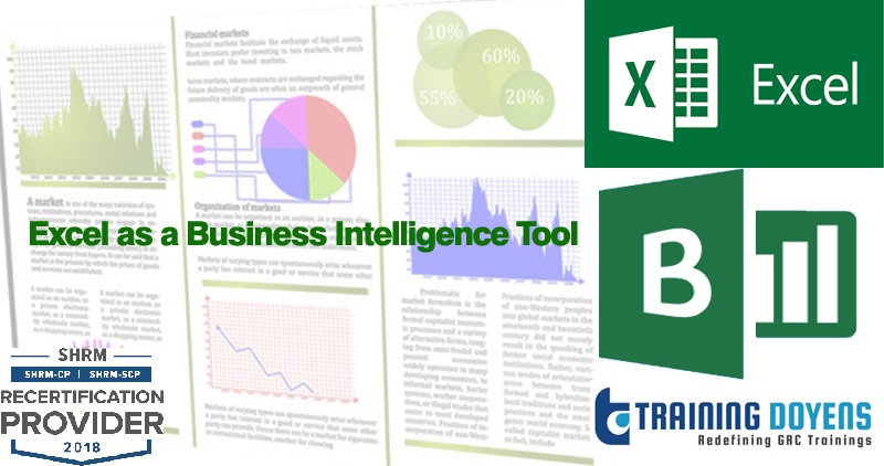 excel as a business intelligence tool create flexible summary