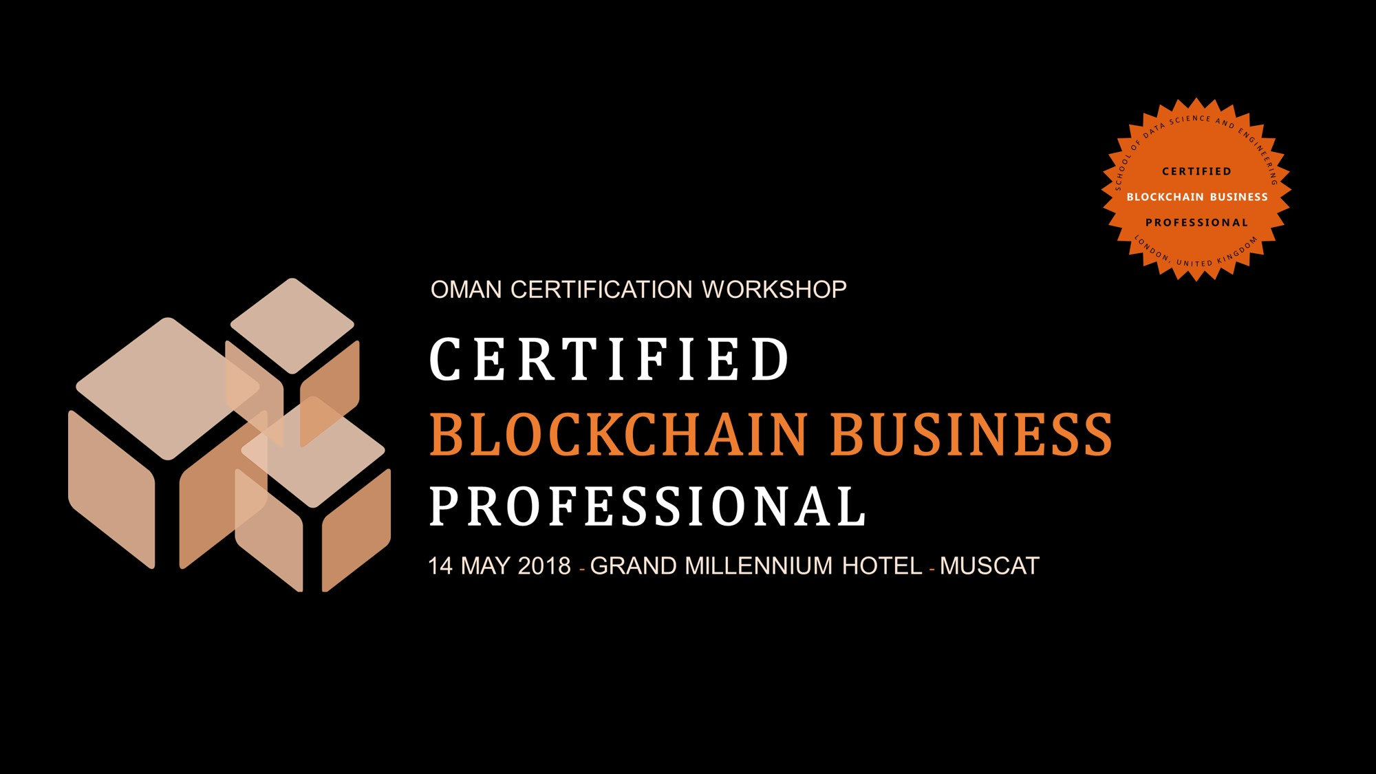 Certified Blockchain Business Professional Cbbp Universe