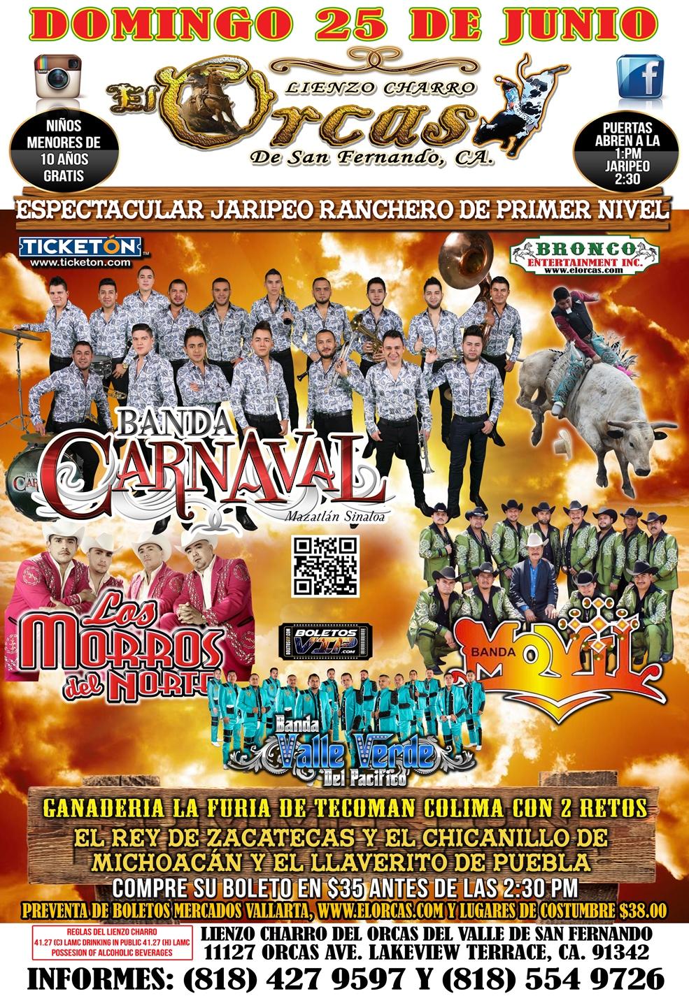 GRAN JARIPEO - BANDA CARNAVAL - Events - Universe