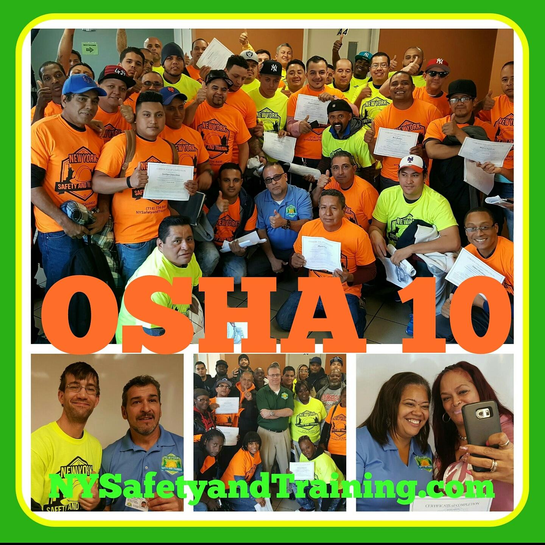 Bronx Osha 10 Construction In English 125 718 734 8400