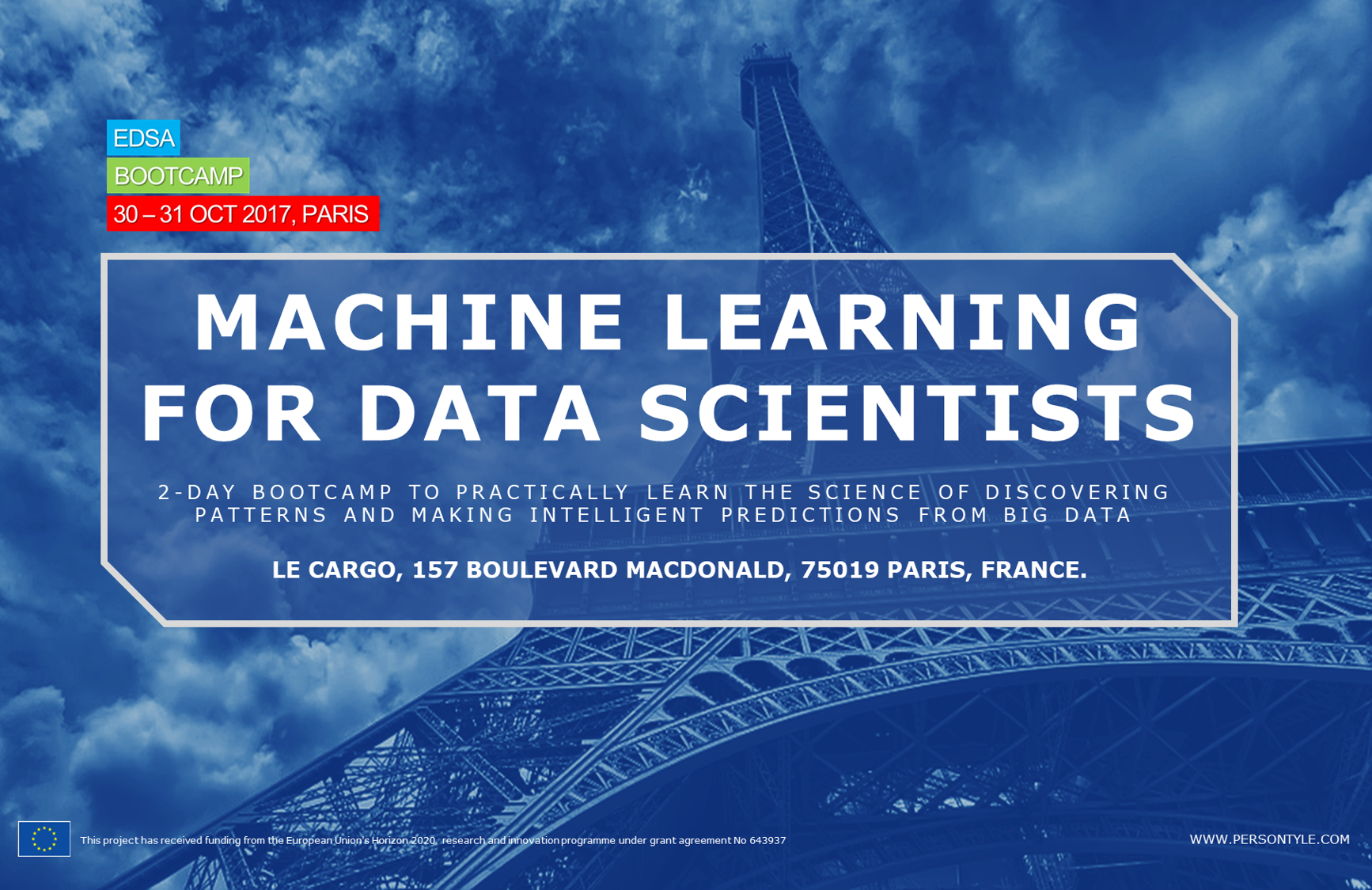 EDSA BOOTCAMP PARIS- MACHINE LEARNING FOR DATA SCIENTISTS