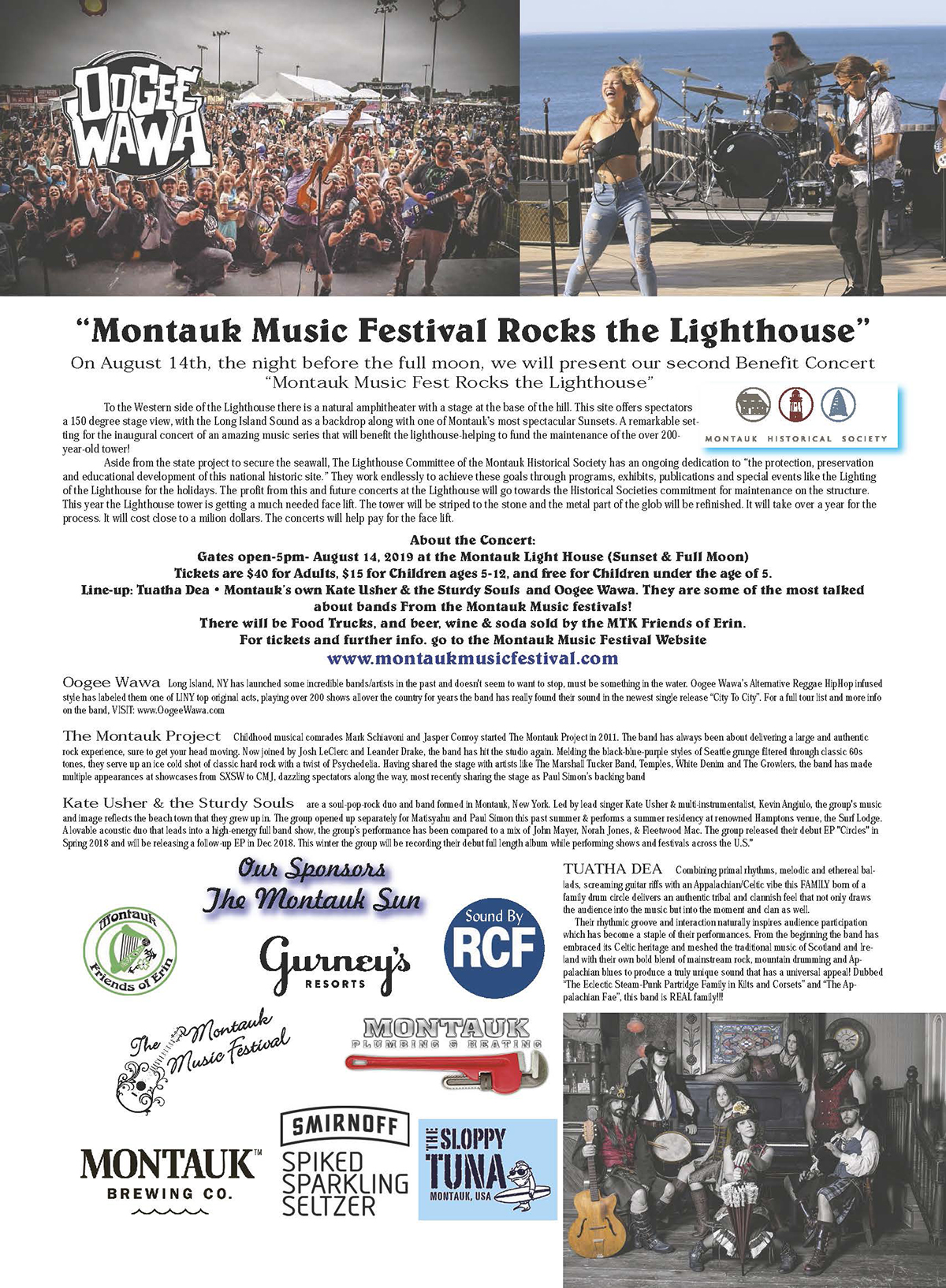 """Montauk Music Fest Rocks the Lighthouse"""