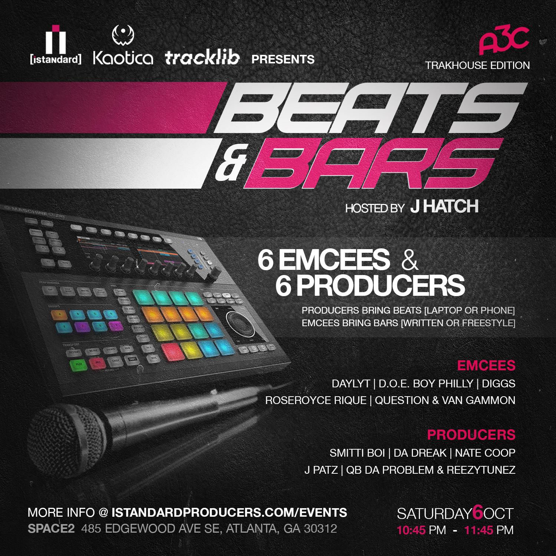 [Beats & Bars] @ A3C