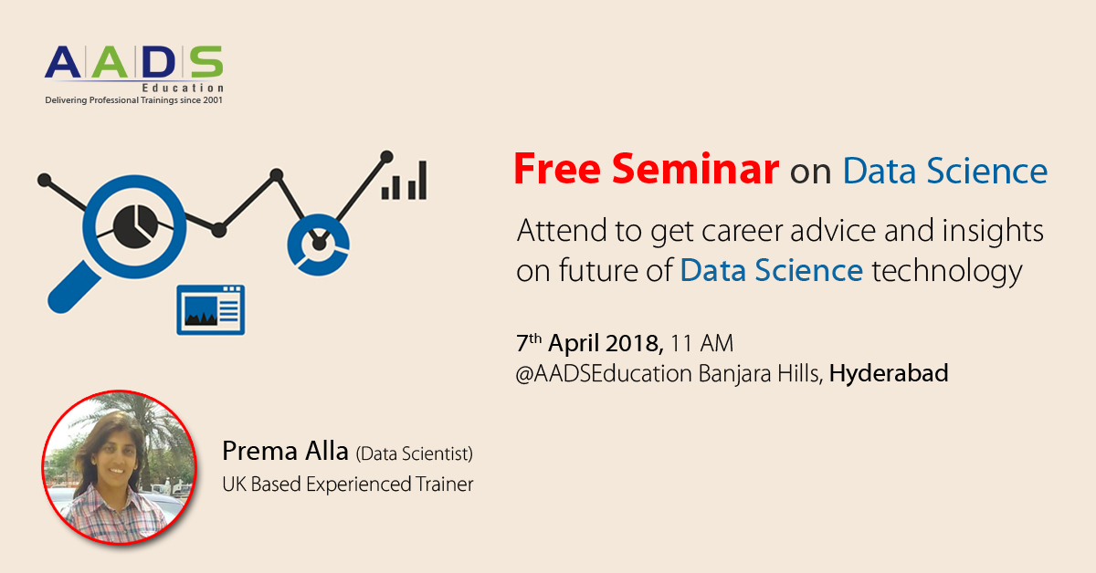FREE SEMINAR - EXPLORE YOUR CAREER IN DATA SCIENCE! - Events - Universe